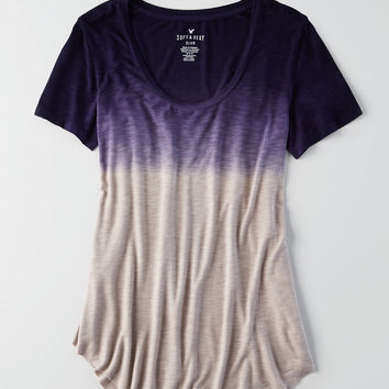 AEO Soft & Sexy Short Sleeve T-Shirt , Indigo