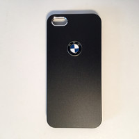 BMW logo black custom iPhone case