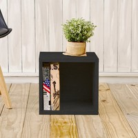 """Andrade Eco Stackable Cubby 13"""" Cube Unit Bookcase"""