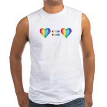 Love Equals Love Tank Top> Love Equals Love> Sheldon To Mr Darcy Art by Alice Flynn