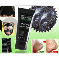 Black MASK,Deep Cleansing Purifying Peel Mud Point Black,Clear Up Beauty