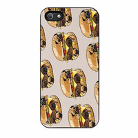 pugs burger case for iphone 5 5s