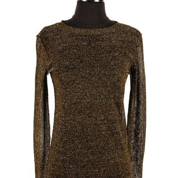 Isabel Marant Metallic Gold Sweater