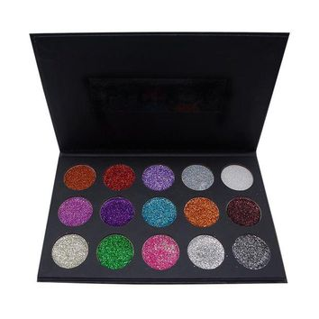 VONEC4W Morphe Make-up Beauty Professional Stylish 15-color Eye Shadow Matt Make-up Palette [501354168335]