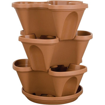 14-Qurt Min-Stacking Planter Pot