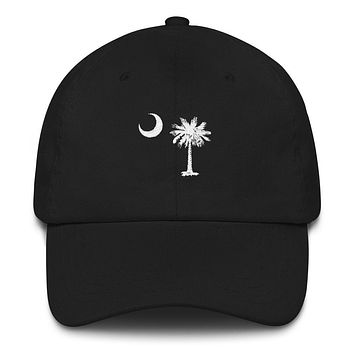 South Carolina Palmetto Moon Embroidered Hat