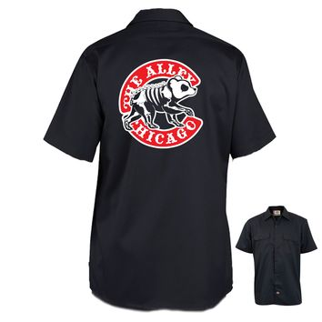 The Alley Chicago Baseball Parody Work Shirt