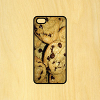 Chocolate Chip Cookies Food Art Phone Case iPhone 4 / 4s / 5 / 5s / 5c /6 / 6s /6+ Apple Samsung Galaxy S3 / S4 / S5 / S6