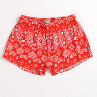 Kirra Smocked Waistband Shorts at PacSun.com