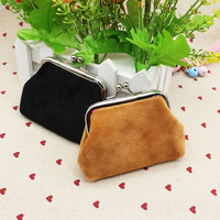 Excellent Quality candy color printing women coin purse,lady change purse,Patent Leather coin wallet,Female money bag wallet