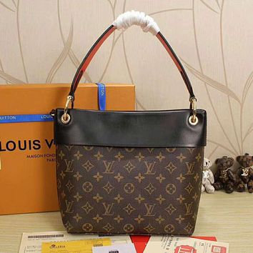 LV Women Shopping Leather Handbag Tote Satchel Shoulder Bag I-LLBPFSH