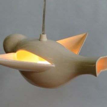 $192.00 Early Bird Pendant Light by amyperch on Etsy