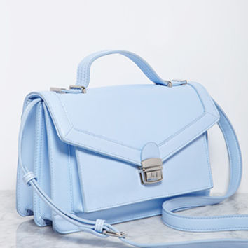 Structured Envelope Crossbody