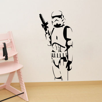 Stormtrooper Character Wall Sticker