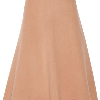 Theory - Uthema wool and cashmere-blend felt midi skirt