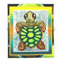 Society6 Baby Sea Turtle Blanket