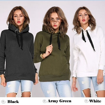 Winter Pullover Hats Plus Size Long Sleeve Hoodies [8776962439]