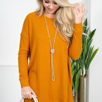 Breezy Morning Thermal Top | Colors