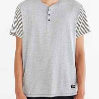Dark Seas Leeside Short-Sleeve Henley Tee