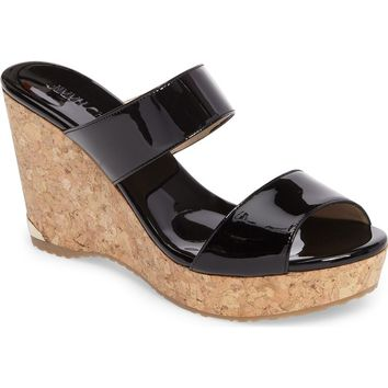 Jimmy Choo Parker Wedge Sandal (Women) | Nordstrom