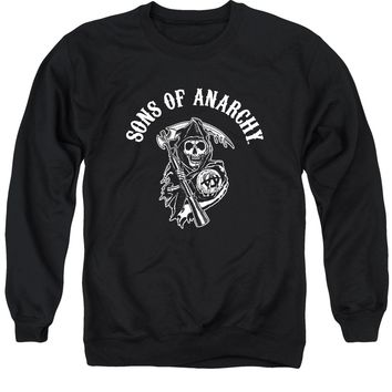 Sons Of Anarchy - Soa Reaper Adult Crewneck Sweatshirt