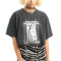 Vintage Y2K Rock & Roll Is the Devil's Music! Cropped Tee - One Size Fits Many