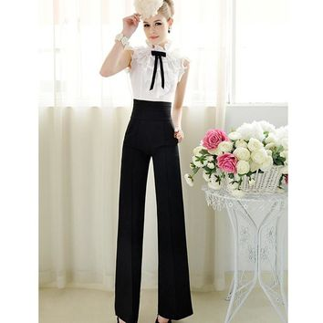 Women Pants New 2016 pantalones Mujer De Vestir high Waist Pants Vestidos Femininos Trousers Women OL Casual Harem Pants dress