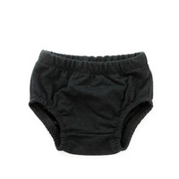 French Terry Baby Bloomers in Black