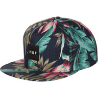Huf Waikiki Box Logo Navy Resort Snapback