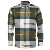 John Regular Fit Button Down in Ancient Tartan by Barbour