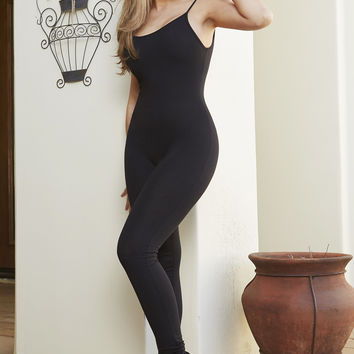RESTOCK Stay Stronger Black Jumpsuit