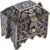 One Kings Lane - Terry Stanfill - 19th-C. Silver Ring Coffer