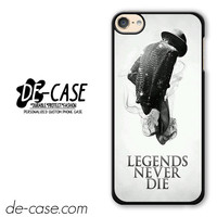 Michael Jackson Legends Never Die DEAL-7140 Apple Phonecase Cover For Ipod Touch 6