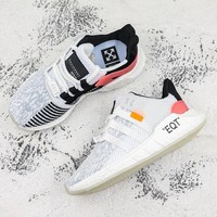 Off White x Adidas EQT Support 93/17 Running Shoes - Best Deal Online