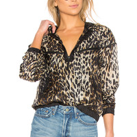 KENDALL + KYLIE Leopard Bomber in Leopard