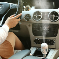 Car Steam Humidifier Air Purifier Aroma Diffuser Essential oil diffuser Aromatherapy Mist Maker Fogger