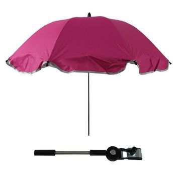 UV-protection 8 Colors Umbrella Baby Stroller Accessories Sun Shade Suits for Any Baby Carriage Pram Strollers B1021