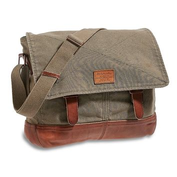 Lucky Brand Lb Collectibles Messenger Mens