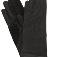 Amazon.com: Isotoner Women's Classic Warm Lined Gloves, Get Ready For Winter Sale, Black (One Size Fits All): Clothing