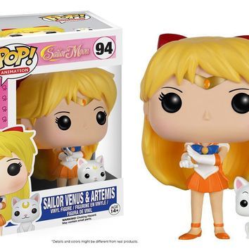 Funko Pop Anime Sailor Moon Venus w/Artemis 94 7300