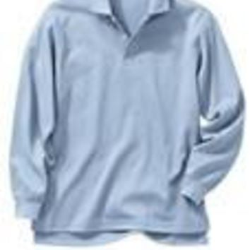 Boys Polo Long Sleeve School Uniform shirts
