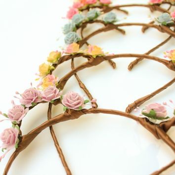 Rose Bear Ears Headband