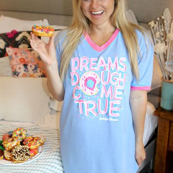 Jadelynn Brooke: Dreams Dough Come True Sleep Shirt {Periwinkle}