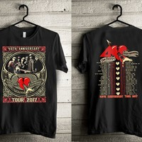 ca qiyif New Tom Petty 40th Anniversary T-shirt
