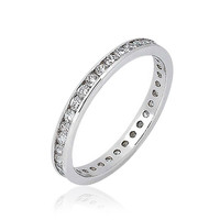 Bling Jewelry Traditional CZ Band