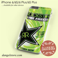 rockstar energy drink lime freeze Phone case for iPhone 6/6s/6 Plus/6S plus