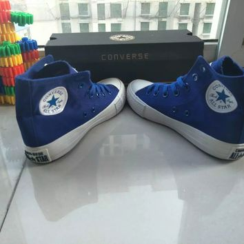 """Converse Chuck Taylor All Star II"" Unisex Sport Casual High Help Shoes Canvas Shoes Couple Cloth Shoes"