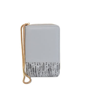 Ladies Snake Bone Chain Bags Wallet [9369828036]