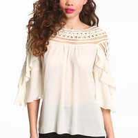 Dream Catcher Tiered Blouse - LoveCulture