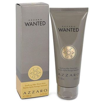 Azzaro Wanted by Azzaro After Shave Balm 3.4 oz  for Men